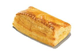 Square mizithra - feta cheese pie