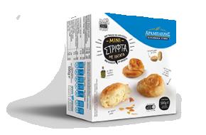 Mini twirled pies with potato