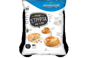 Mini twirled pies with mizithra-feta cheese