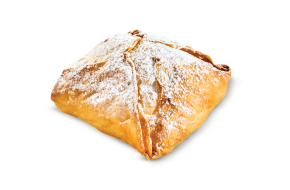 Individual bougatsa with cream