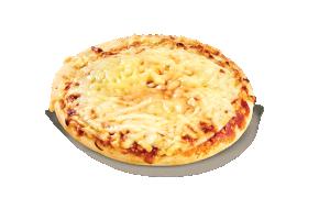Pizza μαργαρίτα στρογγυλή
