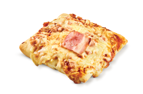 Individual square pizza