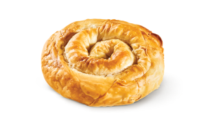 Twirled pie with chicken - 4 cheeses