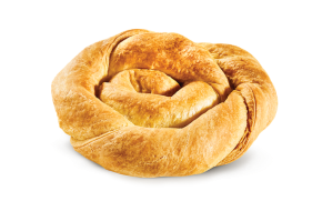 Twirled pie with mizithra - feta cheese
