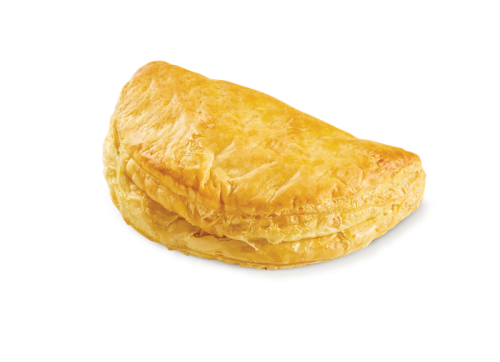 D-shaped mizithra - feta cheese pie