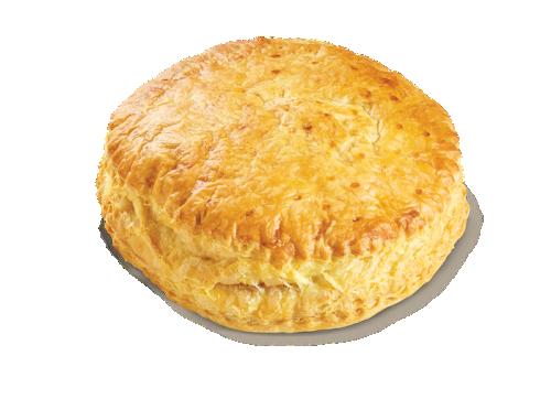 Ham - gouda cheese pie