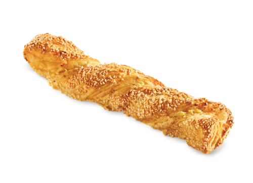 Croissini with mizithra - feta cheese