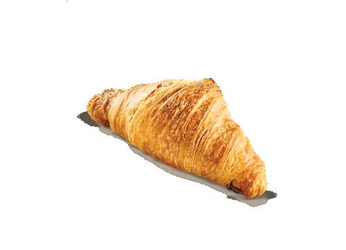 Mini croissant with nougat cream
