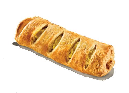 Hot dog croissant