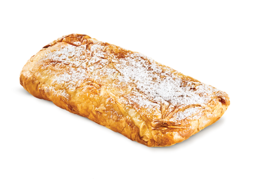 Bougatsa with cream vegetarian