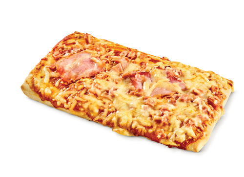 Pizza ζαμπόν - μπέικον