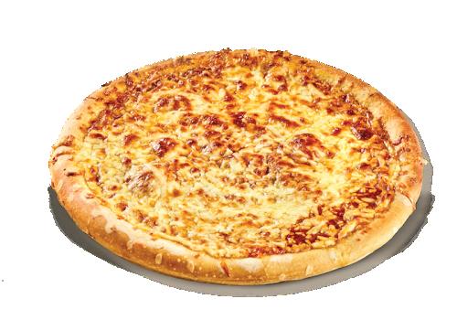 Pizza crust μαργαρίτα