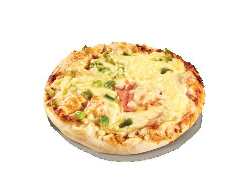 Individual round pizza (unbaked base)