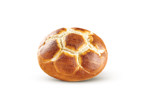 Brezel ψωμάκι στρογγυλό προψημένο