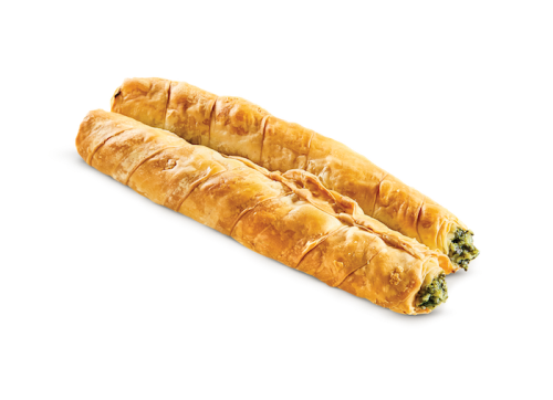 Roll with spinach - vegetarian