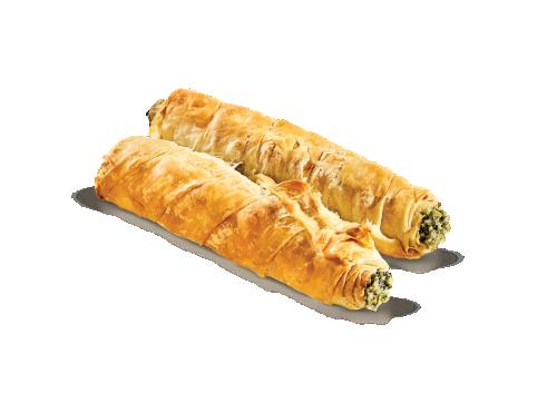 Ρολό σπανάκι - τυρί με ελαιόλαδο