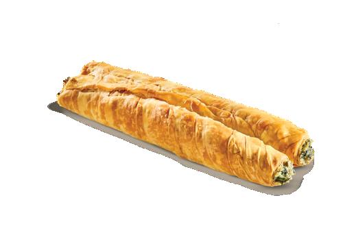 Ρολό σπανάκι - τυρί